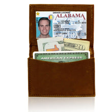 Load image into Gallery viewer, Genuine RFID-Blocking Best Business Card Holder Leather Card Case Excellent Designer - Tan
