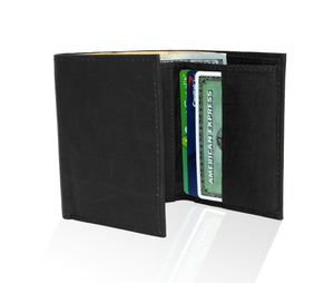 Genuine RFID-Blocking Best Genuine Leather Tri-fold Wallet For Men - Tan
