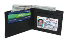 Load image into Gallery viewer, Deluxe RFID-Blocking Genuine Leather Bi-fold - Brown