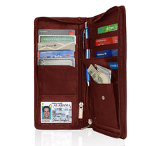 Load image into Gallery viewer, RFID Blocking US Passport Cover ID Holder Wallet