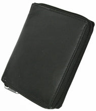Load image into Gallery viewer, Deluxe RFID-Blocking Genuine Leather European Style Wallet - Black - WholesaleLeatherSupplier.com  - 3