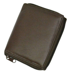 Deluxe RFID-Blocking Genuine Leather European Style Wallet - Black - WholesaleLeatherSupplier.com  - 6