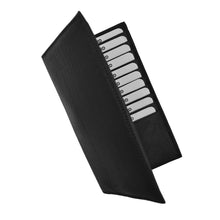 Load image into Gallery viewer, Credit Cards Holder Leather Black