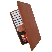 Load image into Gallery viewer, men wallet rfid leather tan