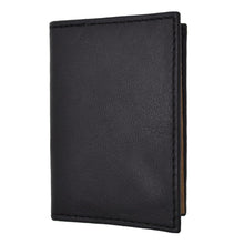 Load image into Gallery viewer, RFID Bifold Men Leather Wallet Black