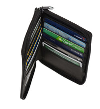 Load image into Gallery viewer, Deluxe RFID-Blocking Genuine Leather European Style Wallet - Black - WholesaleLeatherSupplier.com  - 2