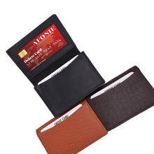 Load image into Gallery viewer, Men Wallet RFID Credit Card Case assorted color