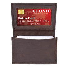 Load image into Gallery viewer, Men Wallet RFID Credit Card Case Brown