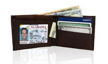 Load image into Gallery viewer, Deluxe RFID-Blocking Premium Soft Genuine Leather Bi-fold - Brown