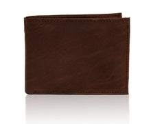 Load image into Gallery viewer, Deluxe RFID-Blocking Premium Soft Genuine Leather Bi-fold - Black