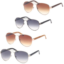 Load image into Gallery viewer, Modern Aviator Thick Frame Sunglasses 4-Pack