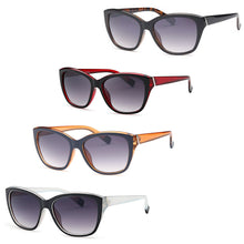 Load image into Gallery viewer, AFONiE Thick Frame Retro Square Sunglasses (4 pack)
