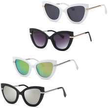Load image into Gallery viewer, MisAmores - Fashion Cateye Sunglasses for Women [4-Pack]