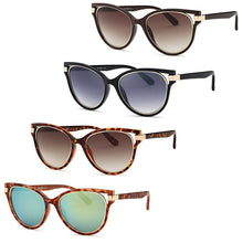 Load image into Gallery viewer, AFONiE Modern Diva Frame Sunglasses (4 Pack)