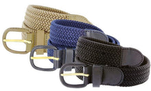 Load image into Gallery viewer, Braided Stretch Belt - WholesaleLeatherSupplier.com  - 2