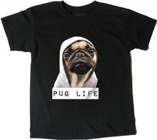 Load image into Gallery viewer, AFONiE 'Pug Life' Unisex Children's T-Shirt