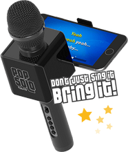 Load image into Gallery viewer, Tzumi PopSolo Wireless Bluetooth Karaoke Microphone