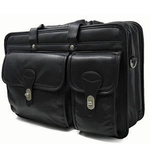 PU Leather Briefcase for Laptop