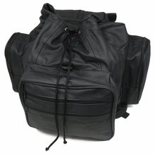 Load image into Gallery viewer, Jumbo Leather Backpack