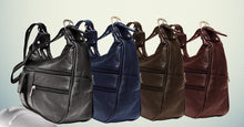 Load image into Gallery viewer, Soft Genuine Leather Shoulder Bag - WholesaleLeatherSupplier.com  - 1