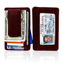 Load image into Gallery viewer, Genuine Leather Magnetic Money Clip - WholesaleLeatherSupplier.com  - 12