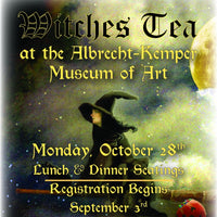 Witches Tea at the Albrecht-Kemper Museum of Art
