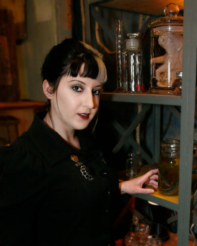 Taxidermist Simone Smith of Half Embalmed