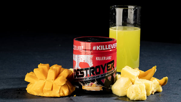 Killer Labz launching a second pre-workout called Destroyer