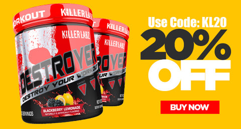 Dominate the iron and kill every workout with Destroyer!