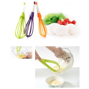 Cheesecake Beaters Tools Balloon And Flat Whisk Silicone Coated Steel Wire