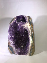 Load image into Gallery viewer, Two Cavity Amethyst Geode