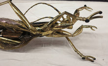 Load image into Gallery viewer, Vintage Praying Mantis Coffee Table - Bronze