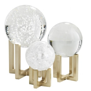 Globe Sculptures Set