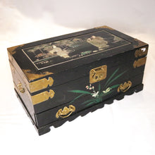 Load image into Gallery viewer, Antique Asian Jewelry Box