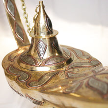 Load image into Gallery viewer, Large traditional Aladdin lamp from Marrakech
