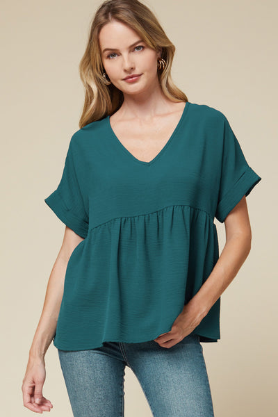 Time To Transition Top, Teal