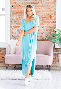 Summer Days Maxi Dress, Ash Mint