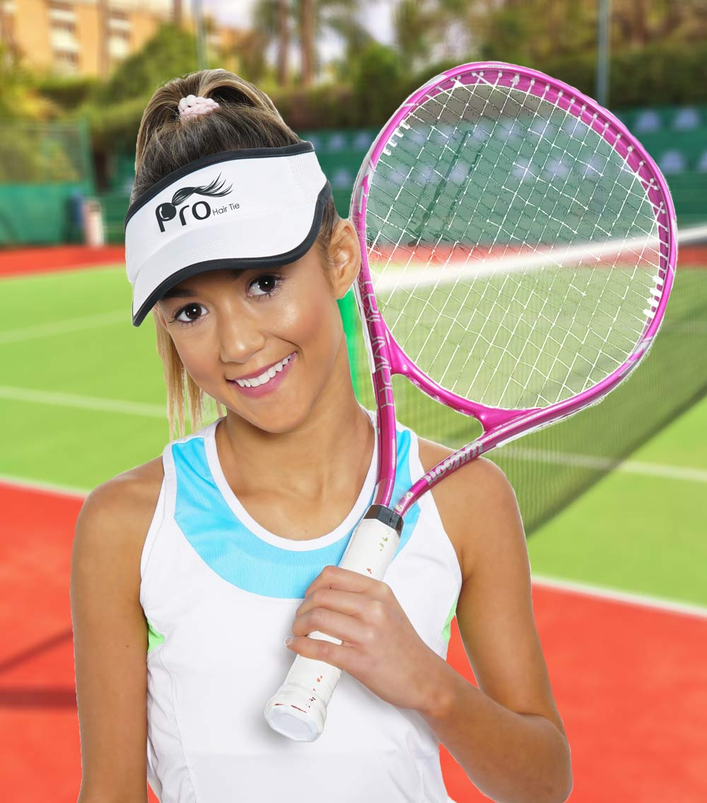 Tennis Hairstyles Perfect For The Court Pro Hair Tie