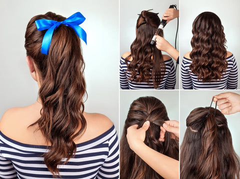 Ponytail with Curls