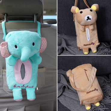 Car Seat Back Cover Holder Paper Napkin Box