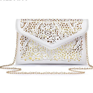 Hollow Out Envelope Bag Small Women