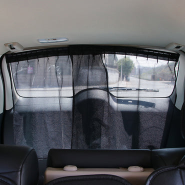 Car Rear Window Sunshade Curtain Car-Styling