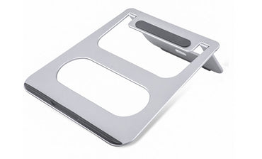 Aluminum notebook laptop stand to protect