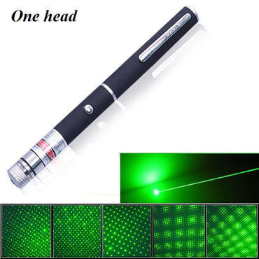 Starry 5mW 532nm Green Laser Pen Stars Laser Pointer With Clouds Sparkling Stars Lantern