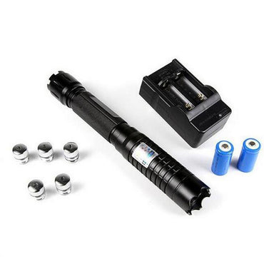 Most Powerful Burning Blue Laser Torch 445nm 10000m Focusable Laser sight