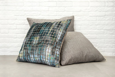 Cushion in Medina Pewter - Zanders & Co