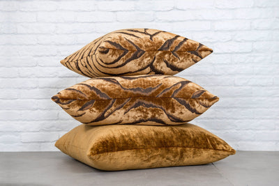 Cushion in Bengal Tiger Gold - Zanders & Co