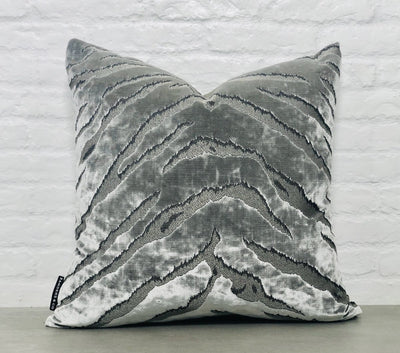 cushion throw pillow in Bengal Tiger | Onyx - Zanders & Co
