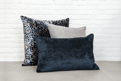 cushion throw pillow in Bespoke | Midnight - Zanders & Co