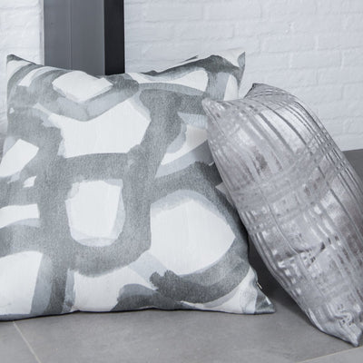 cushion throw pillow in Canvas | Graphite - Zanders & Co